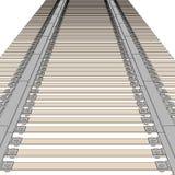 Image of railway track Royalty Free Stock Photo