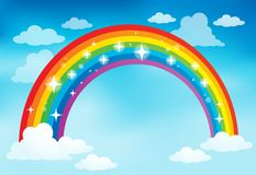 Image with rainbow theme 2 Stock Photo
