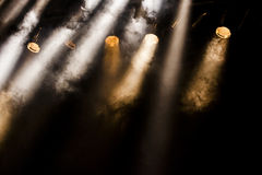 Image of real concert lighting. Lighting Equipment, Party - Social Event, Popular Music Concert, Classical Concert, People Stock Photo
