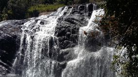 This image is real waterfall of sri lanka stock photo