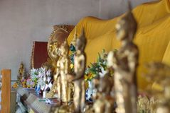 An Image of reclining Buddha Stock Images