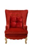 An image of a red chair Royalty Free Stock Photos