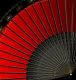 Image of red fan Stock Images