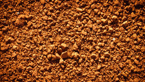 Image of red soil texture Royalty Free Stock Photo