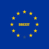 Image relative to politic relationships between Europe Union and United Kingdom Royalty Free Stock Photography
