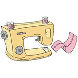 Retro sewing machine Royalty Free Stock Photography