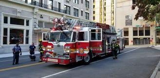Richmond Virginia Fire Department on a Call stock photos