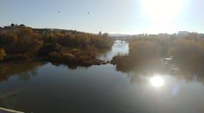 River in Córdoba royalty free stock photography