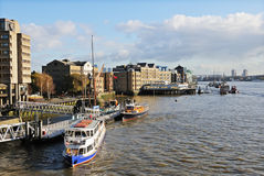 Image of the River Thames, London, UK Royalty Free Stock Photos