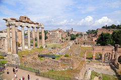 Image of Roman Forum in Rome, Italy Stock Photo