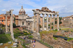 Image of Roman Forum in Rome, Italy Stock Image