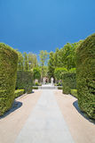 An image of Royal Gardens in Madrid stock image