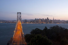 Image of San Francisco cityscape and skyline Stock Photography