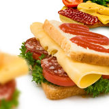 Image of a sandwich Royalty Free Stock Images