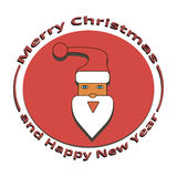 The image of Santa Claus at Christmas and New Year Stock Photography