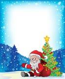 Image with Santa Claus theme 3 Royalty Free Stock Photos
