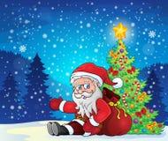 Image with Santa Claus theme 4 Royalty Free Stock Image