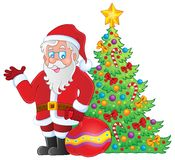 Image with Santa Claus theme 7 Stock Photo
