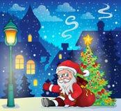 Image with Santa Claus theme 8 Royalty Free Stock Image