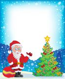 Image with Santa Claus theme 9 Royalty Free Stock Image