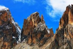Image of Sassolungo Group, South Tirol, Dolomites Mountains Stock Image