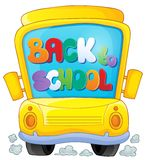 Image with school bus theme 3 Stock Photography