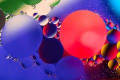 Image scientifique de membrane cellulaire Macro des substances liquides Sctructure abstrait d'atome de molécule Bulles de l'eau M photo libre de droits