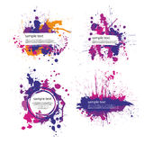Color index blot Royalty Free Stock Photo