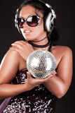 Image of sexy dj Royalty Free Stock Images