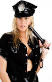 Image of sexy policewoman Royalty Free Stock Photo