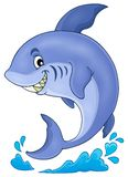 Image with shark theme 3 Royalty Free Stock Photo