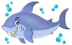 Image with shark theme 5 Stock Photography