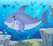 Image with shark theme 6 Royalty Free Stock Images