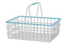 Image of shopping basket Stock Photos