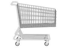 Image of shopping cart Stock Image