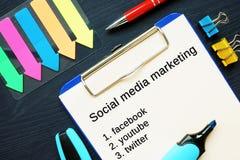 Image showing social media marketing