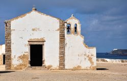 Chapel of Fortaleza de Sagres, Portugal, Europe Stock Photos