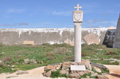 Monement of Fortaleza de Sagres, Portugal, Europe Stock Photography