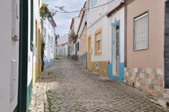 Ferragudo, Algarve, Portugal, Europe. Image shows part of old town Ferragudo, Algarve, Portugal, Europe Stock Photo