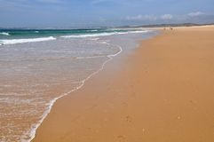 Beach of Alvor, Algarve, Portugal, Europe Royalty Free Stock Photo