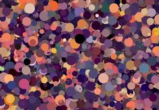 Abstract art texture. Colorful round discs. Colorful texture. Modern artwork. Digital render. Image shows various colorful discs in different sizes. Image have Stock Photo