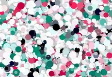 Abstract art texture. Colorful round discs. Colorful texture. Modern artwork. Digital render. Image shows various colorful discs in different sizes. Image have Stock Photos