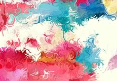 Abstract art texture. Colorful lines. Colorful texture. Modern artwork. Digital painting. Royalty Free Stock Photo