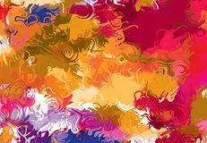 Abstract art texture. Colorful lines. Colorful texture. Modern artwork. Digital painting. Stock Photography