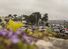 Abersoch, North Wales - the boats. stock photography