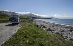 Snowdonia, North Wales, the UK - let`s go camping. stock photography