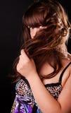 Image of shy girl Stock Photography