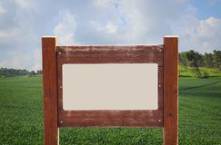 Image of signpost in countryside landscape. Image of signpost in countryside landscape Stock Photography