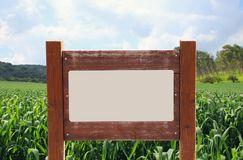 Image of signpost in countryside landscape. Image of signpost in countryside landscape Stock Photo