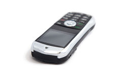 Image of silver mobile telephone Stock Photography